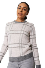 Load image into Gallery viewer, Pink Multi Check Design Soft Knit Jumper