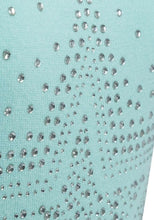 Load image into Gallery viewer, Mint Roll Neck Ribbed Knitted Star Embellished Jumper