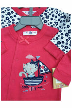 Load image into Gallery viewer, Lily & Jack Red Multi 2Pack Cotton Sleepsuits