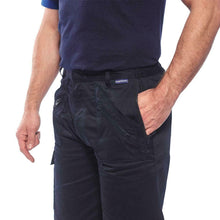 Load image into Gallery viewer, Men's Portwest Action Multi Pocket Cargo Work Shorts