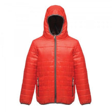 Load image into Gallery viewer, Kids Boys Girls Regatta Stormforce Padded Coat