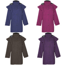 Load image into Gallery viewer, Ladies Hunton Waterproof 3/4 Length Riding Coat