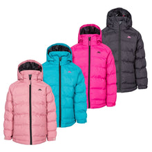 Load image into Gallery viewer, Girls Trespass Amira Waterproof Padded Hooded Coat