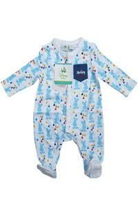 Disney Mickey Mouse Romper Pure Cotton Sleepsuit
