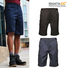 Load image into Gallery viewer, Mens Regatta Water-Repellent Combat Cargo Casual Shorts