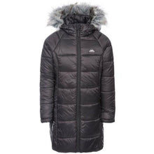 Load image into Gallery viewer, Trespass Girls Elimore Padded Hooded Casual Coat