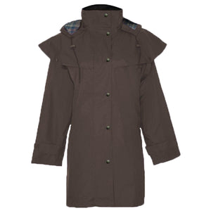 Ladies Hunton Waterproof 3/4 Length Riding Coat