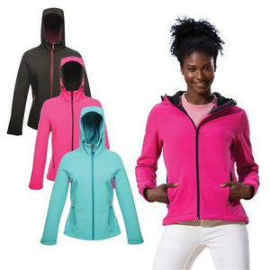 Ladies Regatta Arley II Shaped Softshell Windproof Jacket