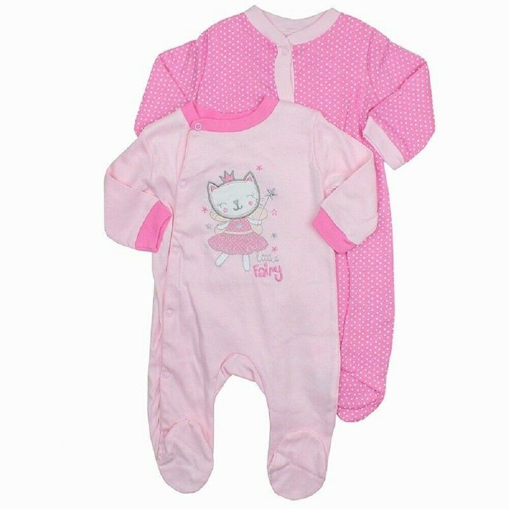 2-piece Baby 'Little Fairy' Cat Sleepsuit