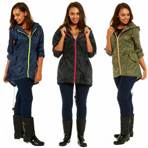 Ladies RainyDays Showerproof Fishtail Raincoat