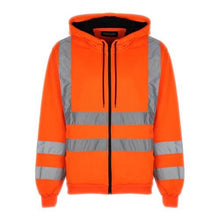 Load image into Gallery viewer, Hi Vis HV008 Hooded Zipper