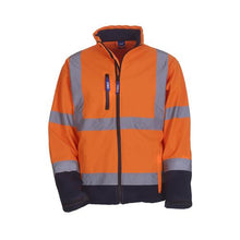 Load image into Gallery viewer, Yoko HVK09 Hi Vis Softshell Jacket