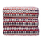 Christy Carnaby Stripe 550gsm Cotton Towels - Berry