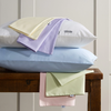 Vantona Plain Dye Pure Cotton Fitted Valance Sheet - White