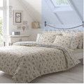 Vantona Vintage Mary Floral Duvet Cover Set - Multi