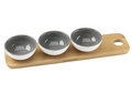 Cole & Mason Ceramic Dipping Bowls & Board