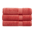 Christy Supreme Hygro 650gsm Cotton Towels - Coral