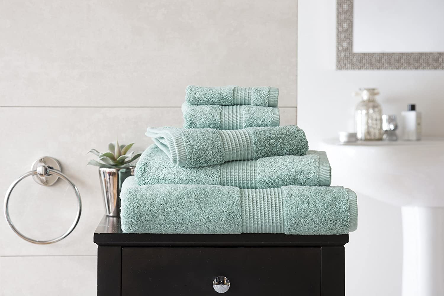 Deyongs Bliss 650gsm Pima Cotton Towels - Spearmint