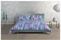 Deyongs Modern Peacock Feathers Duvet Cover Set