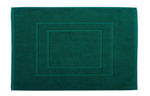 Christy Brixton 850gsm Cotton Shower Mat - Emerald