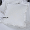 Florence Filled Cushion 40 x 40 cm - White