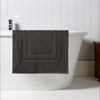 Christy Brixton 850gsm Cotton Shower Mat - Liquorice