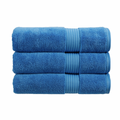 Christy Supreme Hygro 650gsm Cotton Towels - Cadet Blue