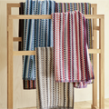 Christy Carnaby Stripe 550gsm Cotton Towels - Multi