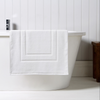 Christy Brixton 850gsm Cotton Shower Mat - White