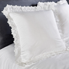 Vantona Romantica Filled Cushion 40 x 40 cm - White