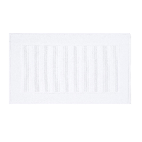 Christy Supreme Hygro 1000gsm Cotton Towelling Bath Mat - White