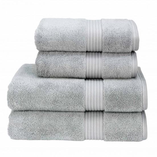 Christy Supreme Hygro 650gsm Cotton Towels - Silver