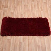 Romany Cherry Washable Rugs - 2 Sizes