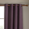 iLiv Anderson Woven Lined Eyelet Curtains - Plum