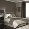 iLiv Palladio Mocha Damask Faux Silk Duvet Cover Sets - Latte