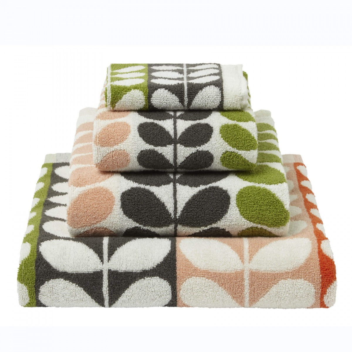 Orla Kiely Multi Stem Towels - Classic