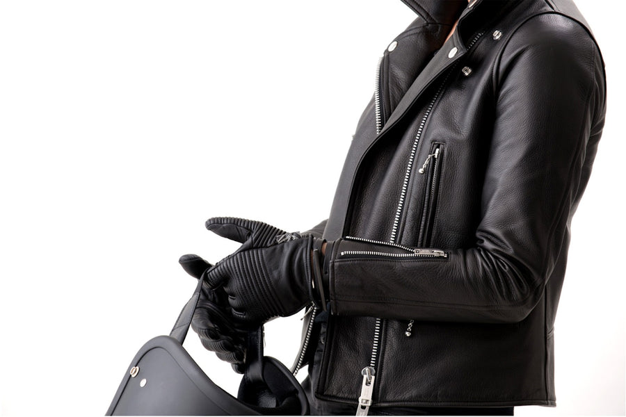 Gants Leather Black
