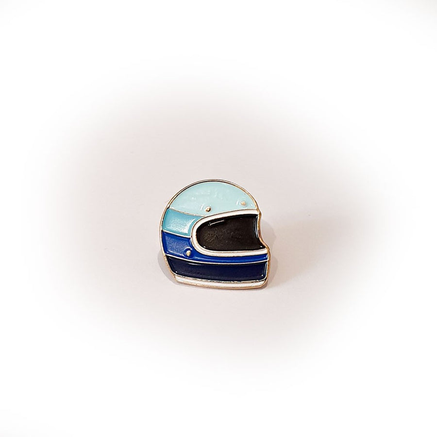 Pin's 4h10 - Blue Helmet
