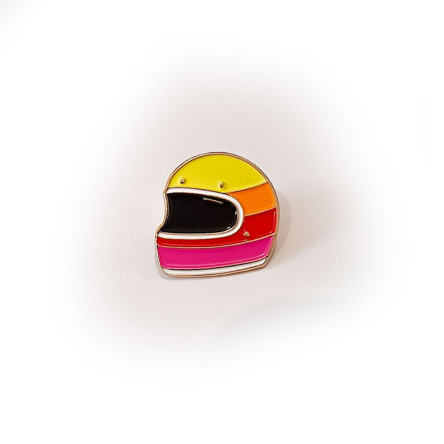 Pin's 4h10 - Sunset Helmet