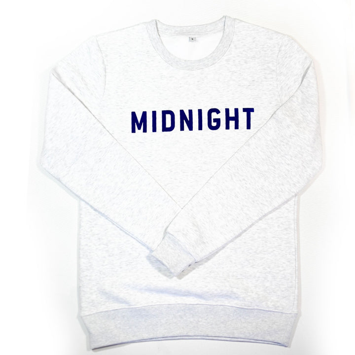 Sweat Midnight Blanc chiné