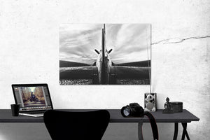 "Photo ""Corsair"" Tirage Baryté sur aluminium"