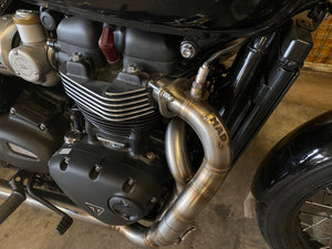 "Triumph Bonneville - Ligne Echappement ""The Gentry"""