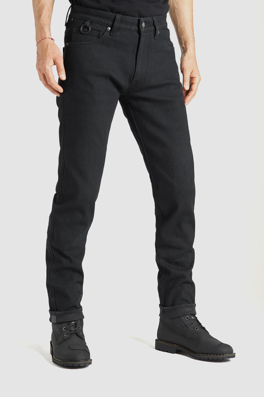 Pantalon Steel Black 02 Dyneema - coupe slim
