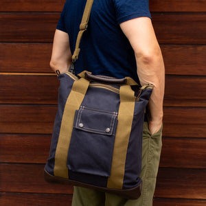 "Sac ""Buddy Daily"" navy homme dos"