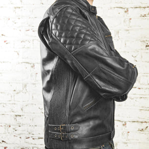 Kingpin Leather jacket Black