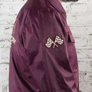Roadie Coach Jacket Burgundy