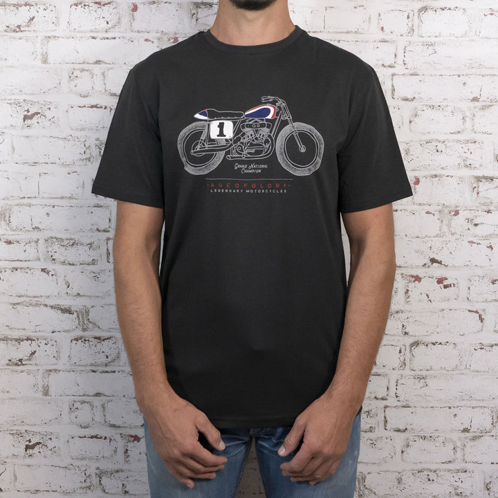 Tee-shirt Legendary - Grand National Washed Black