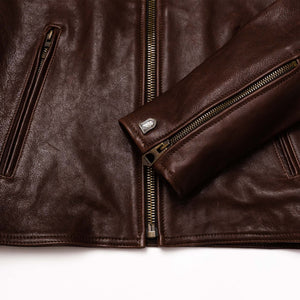 "Blouson ""Cafe Racer"" Marron"