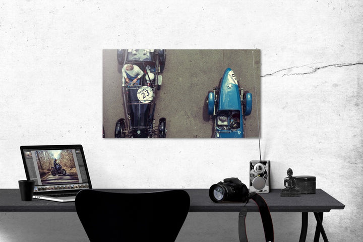 "Photo ""Vintage Racers"" Tirage Baryté sur aluminium"