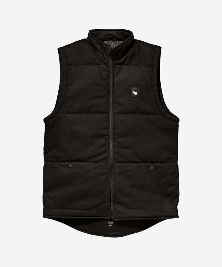 Gilet Dyneema® / Twill noir - SMALL et MEDIUM